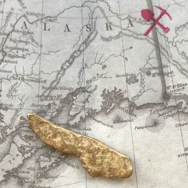 Certified Natural Gold Nugget 12.4 DWT