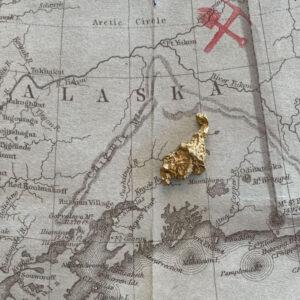Certified Natural Alaskan Gold Nugget 2.0 DWT