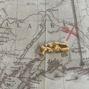 Certified Natural Alaskan Gold Nugget 2.3 DWT