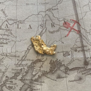 Certified Natural Alaskan Gold Nugget 3.1 DWT