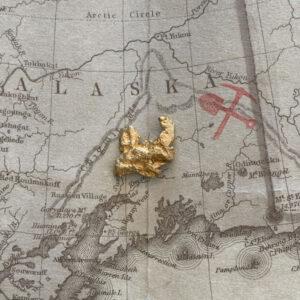 Certified Natural Alaskan Gold Nugget 3.5 DWT