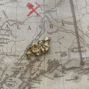 Certified Natural Alaskan Gold Nugget 3.8 DWT