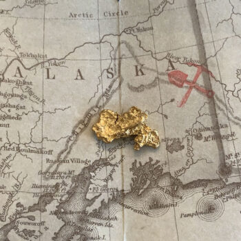 Certified Natural Alaskan Gold Nugget 4.0 DWT