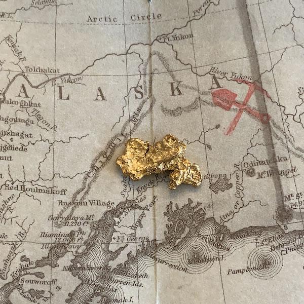 Certified Natural Alaskan Gold Nugget 4.0 DWT