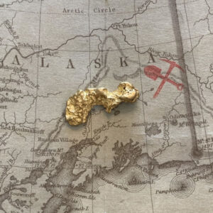 Certified Natural Alaskan Gold Nugget 4.5 DWT