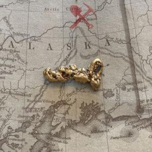 Certified Natural Alaskan Gold Nugget 4.9 DWT