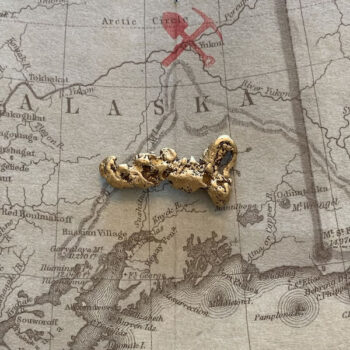 Certified Natural Alaskan Gold Nugget 4.9 DWT