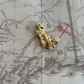 Certified Natural Alaskan Gold Nugget 6.2 DWT