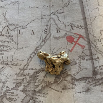 Certified Natural Alaskan Gold Nugget 6.6 DWT