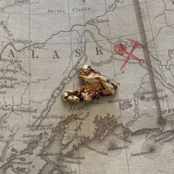 Certified Natural Alaskan Gold Nugget 6.7 DWT
